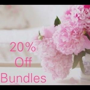 Other - Bundle for 20% off!! 😍